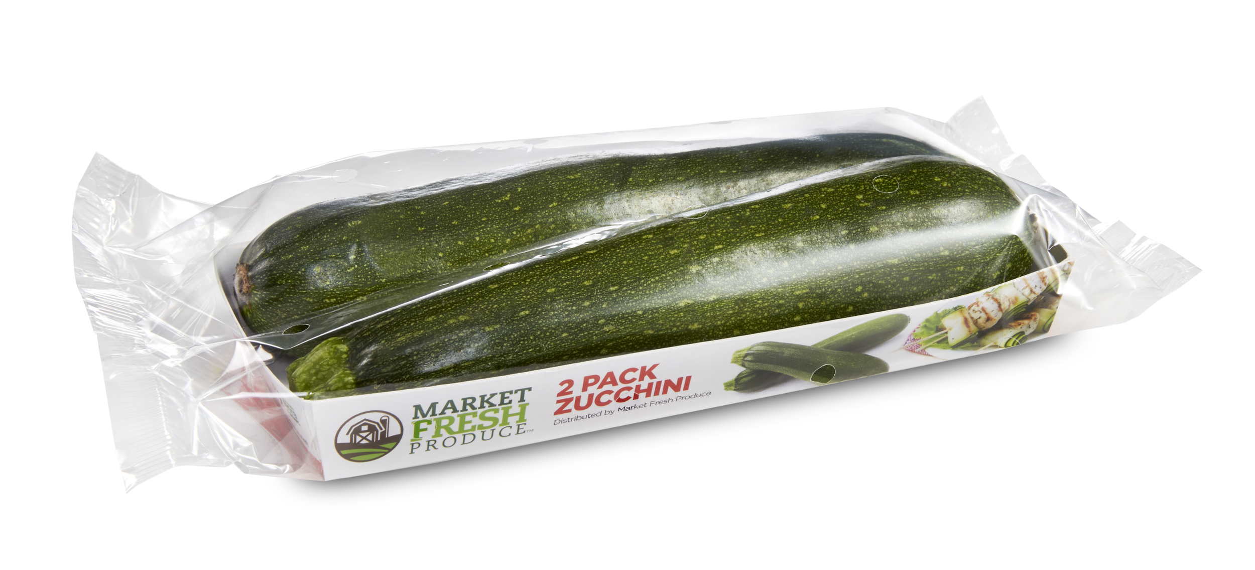 Zucchini Squash - This green goodness is a summer time favorite and the new go to for a noodle substitute. We offer Zucchini Squash in a 22 pound US #1 bulk case or a 2 pack shelf ready retail package.