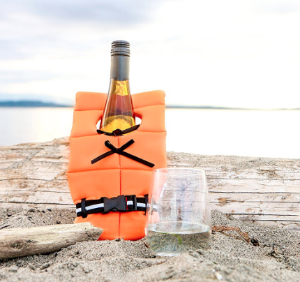Bottle Life Preserver - It's important to ensure that your wine bottle is always safe.$8