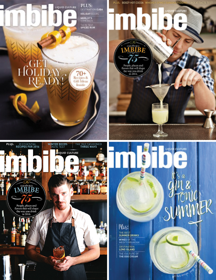 IMBIBE MAGAZINE SUBSCRIPTION! - All you want to know about liquid culture...and pretty pictures and cool people. Imbibe is my absolute favorite liquid culture magazine. I get so excited every time I see it in my mailbox. Filled with the vastness of all things in liquid culture, it opens the door to so many adventures on people, places, events, and recipes, and what to keep your eye out for. I'd recommend this present to anyone who has a curious soul. And the layout and photography really brings it all in.$21.95 (year subscription)