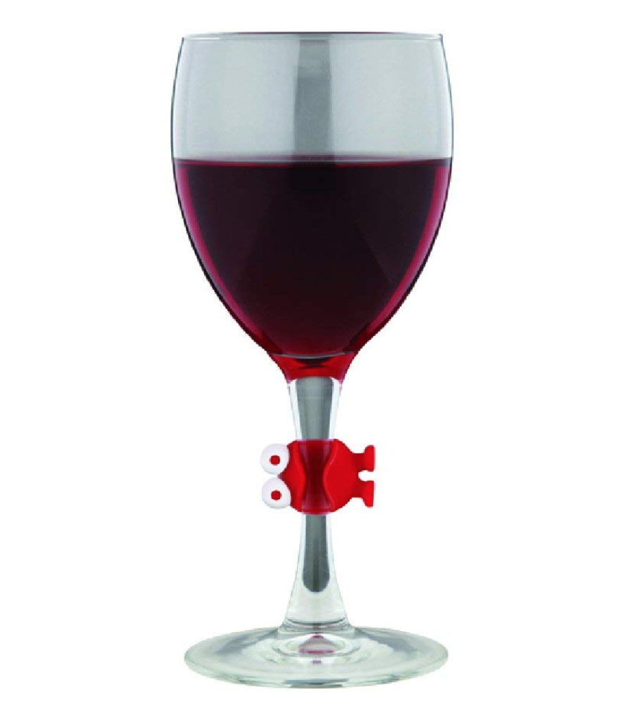 MONSTER WINE WATCHERS - Having that little thing to keep your wine glass different from the others is always fun. I know there are a lot of fun wine charms/watchers our there–but this is one of my favorites. Because, well, come on, they're adorable.$8