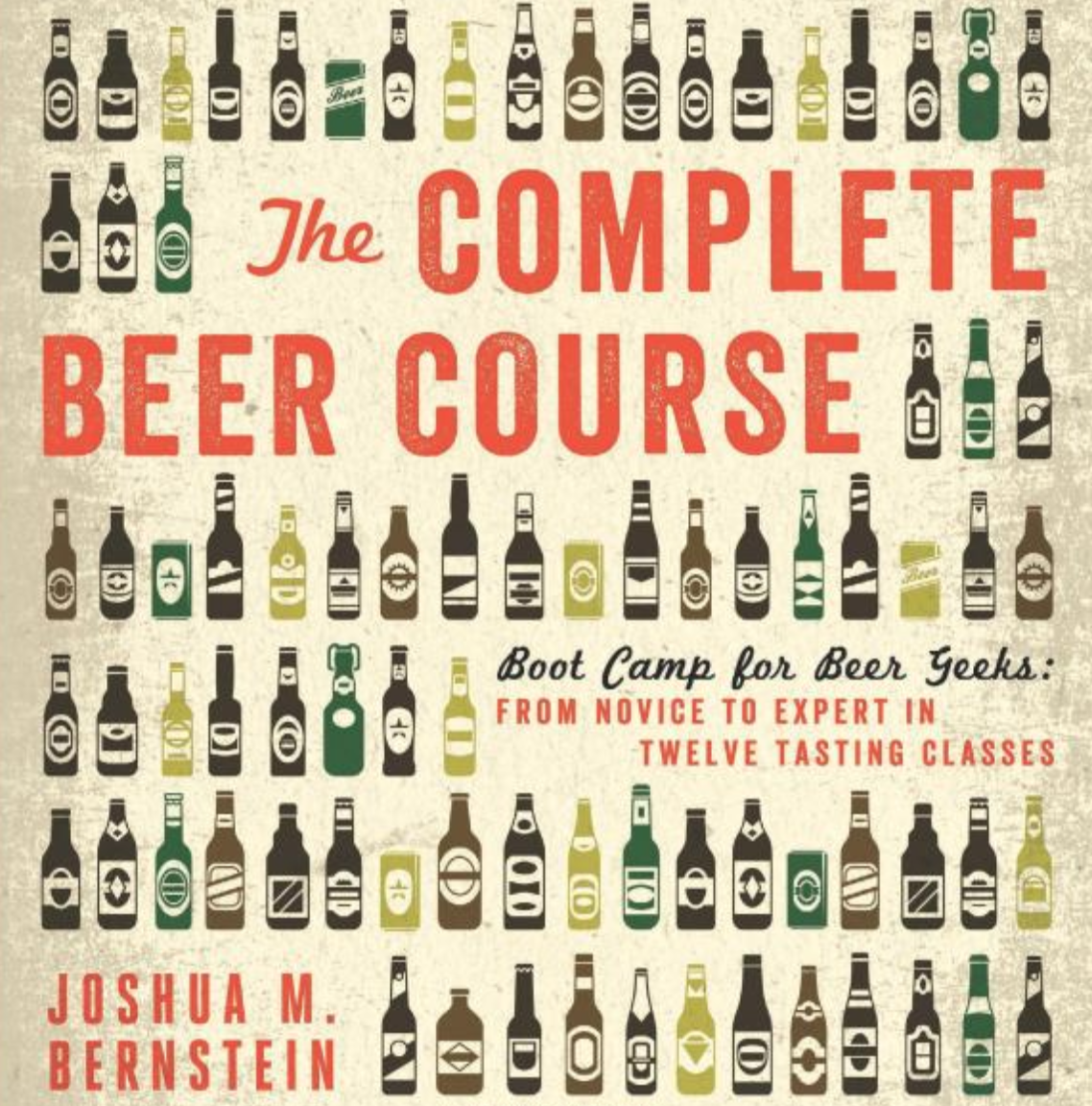 The Complete Beer Course: Boot Camp for Beer Geeks - It's a great time to be a beer drinker, but also the most confusing, thanks to the dizzying array of available draft beers. Joshua Bernstein's The Complete Beer Course is structured around a series of easy-to-follow classes that breaks down the elements that make beer's flavor spin into distinctively different and delicious directions.$23