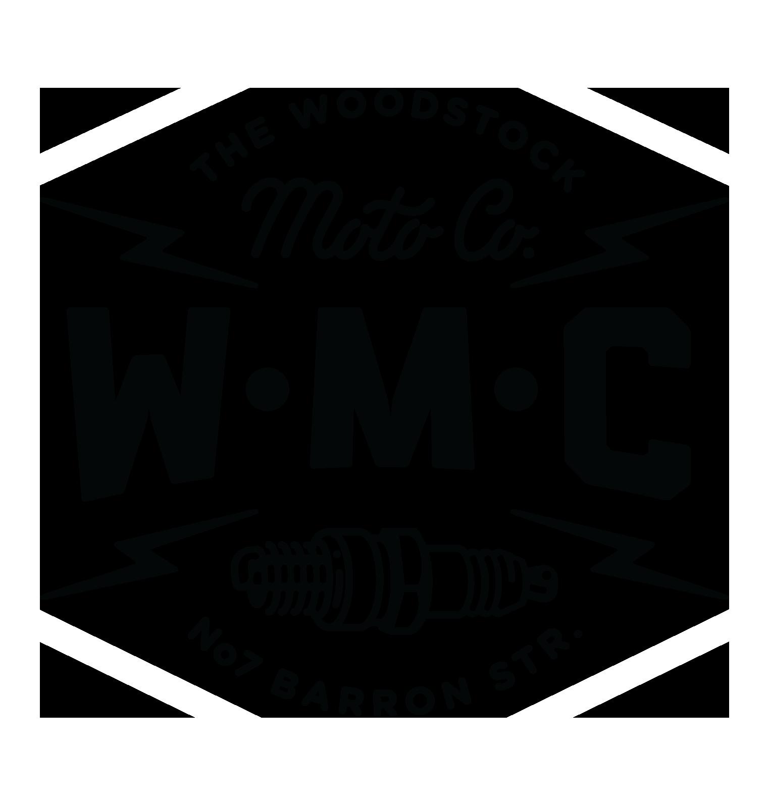 The Woodstock Moto Co. Logo