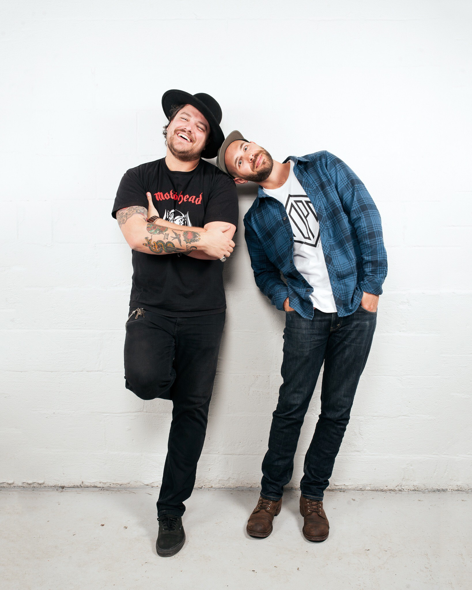 Alexandre Brault (left) & Ryan Gillies (right) - TheMotoSocialOTTAWA