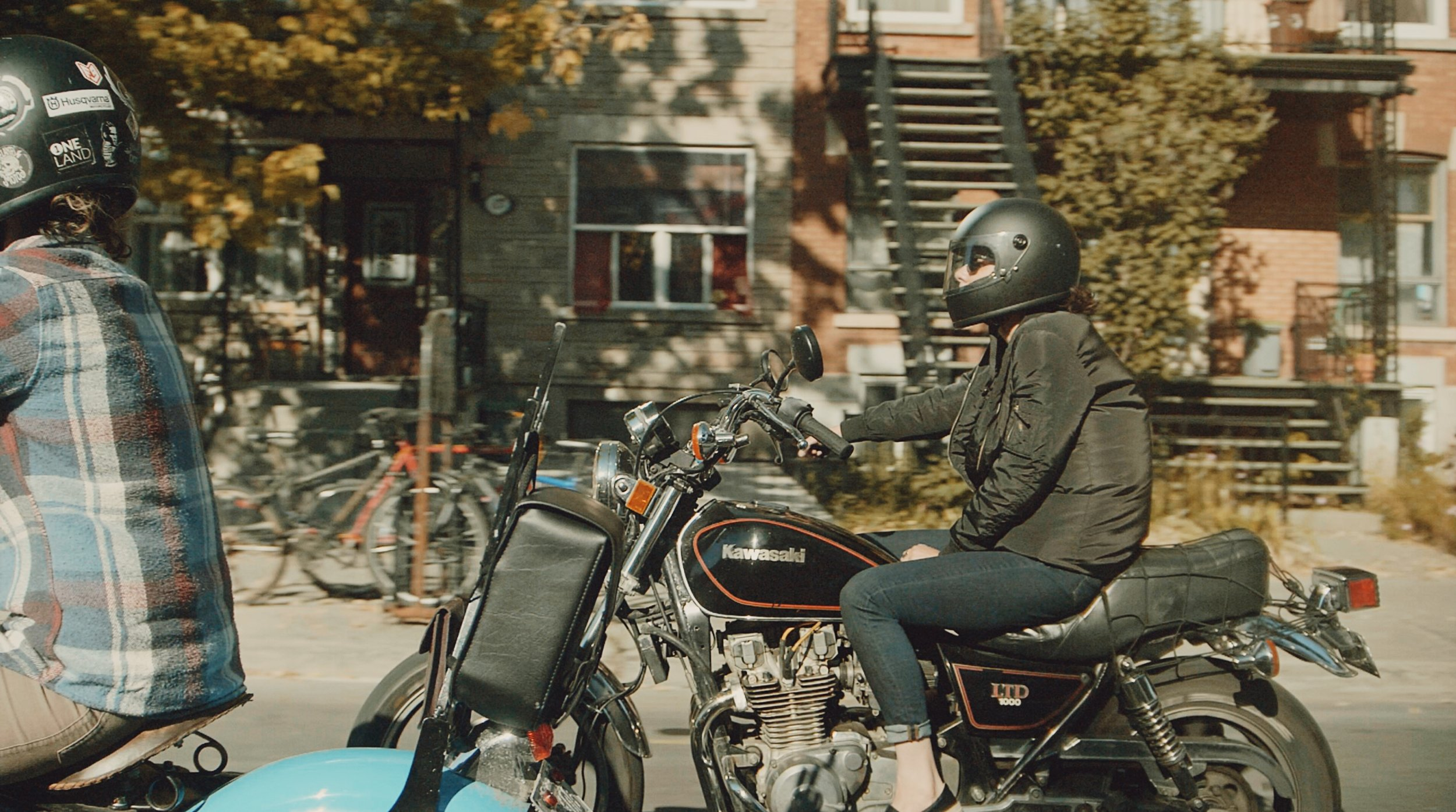 Roxanne's Ride | ONELAND | TheMotoSocialMONTREAL