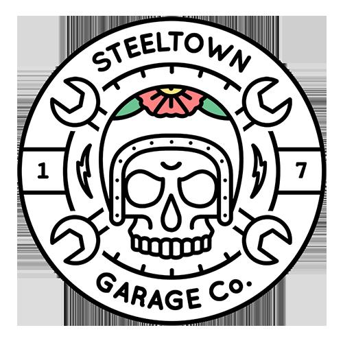 SteeltownGarage Logo | #TheMotoSocialHAMILTON