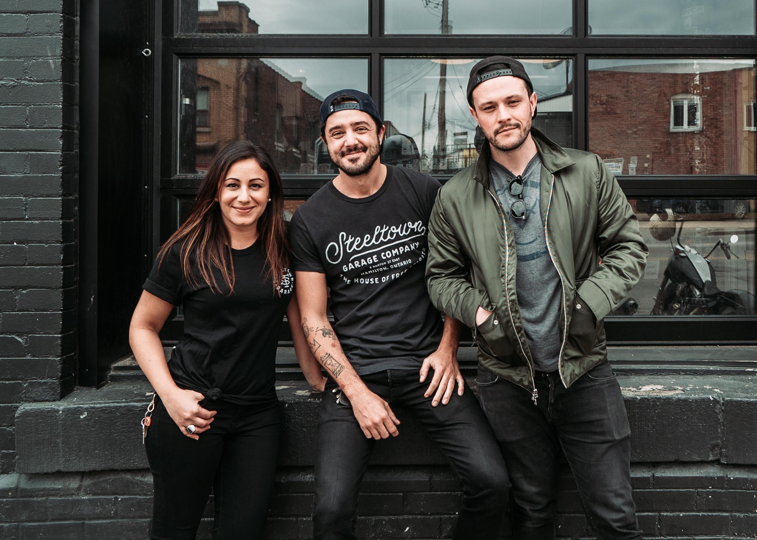 Tania, Jeff & Allan | #TheMotoSocialHAMILTON