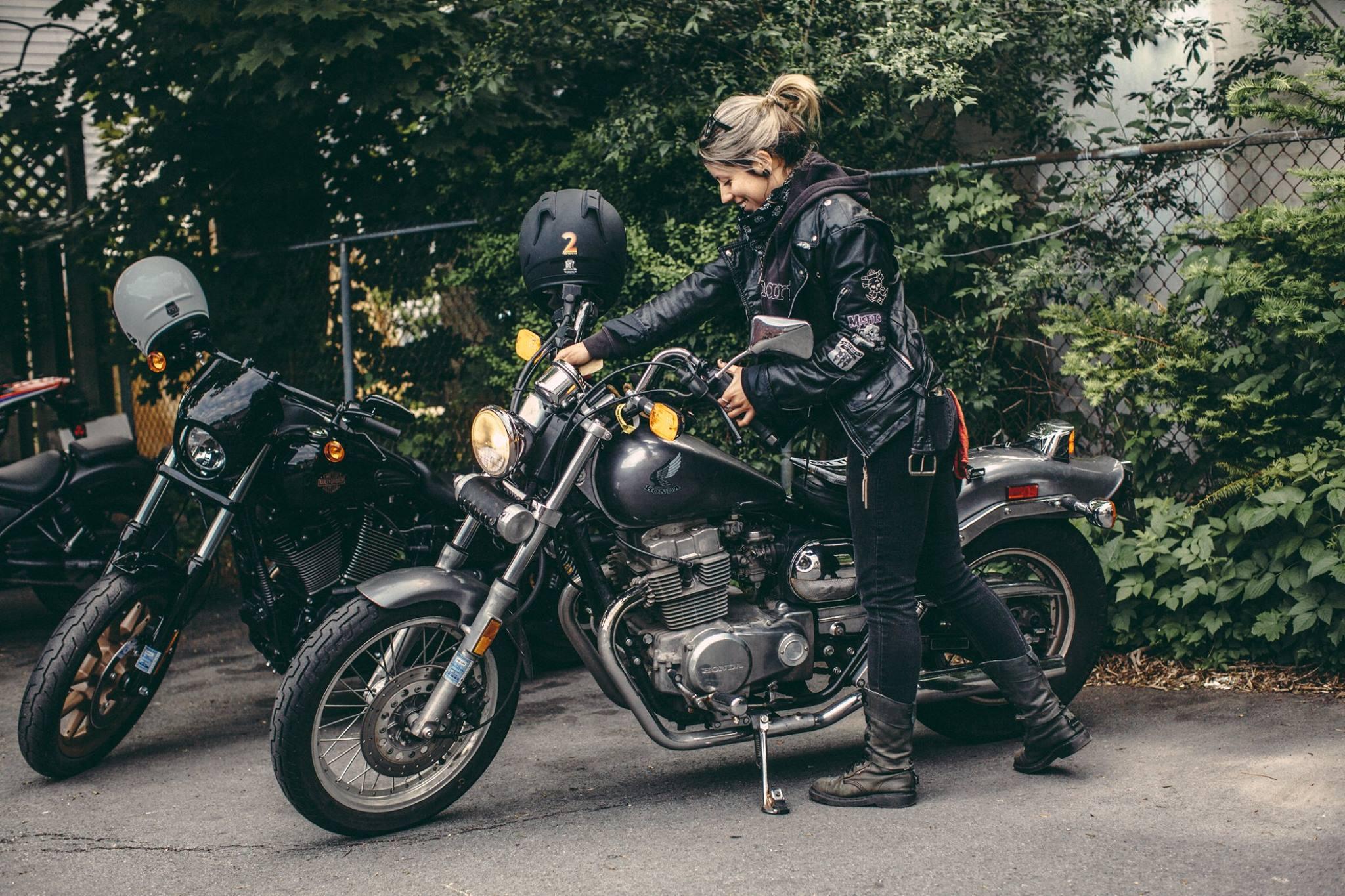 Kira's Ride   #TheMotoSocialHALIFAX