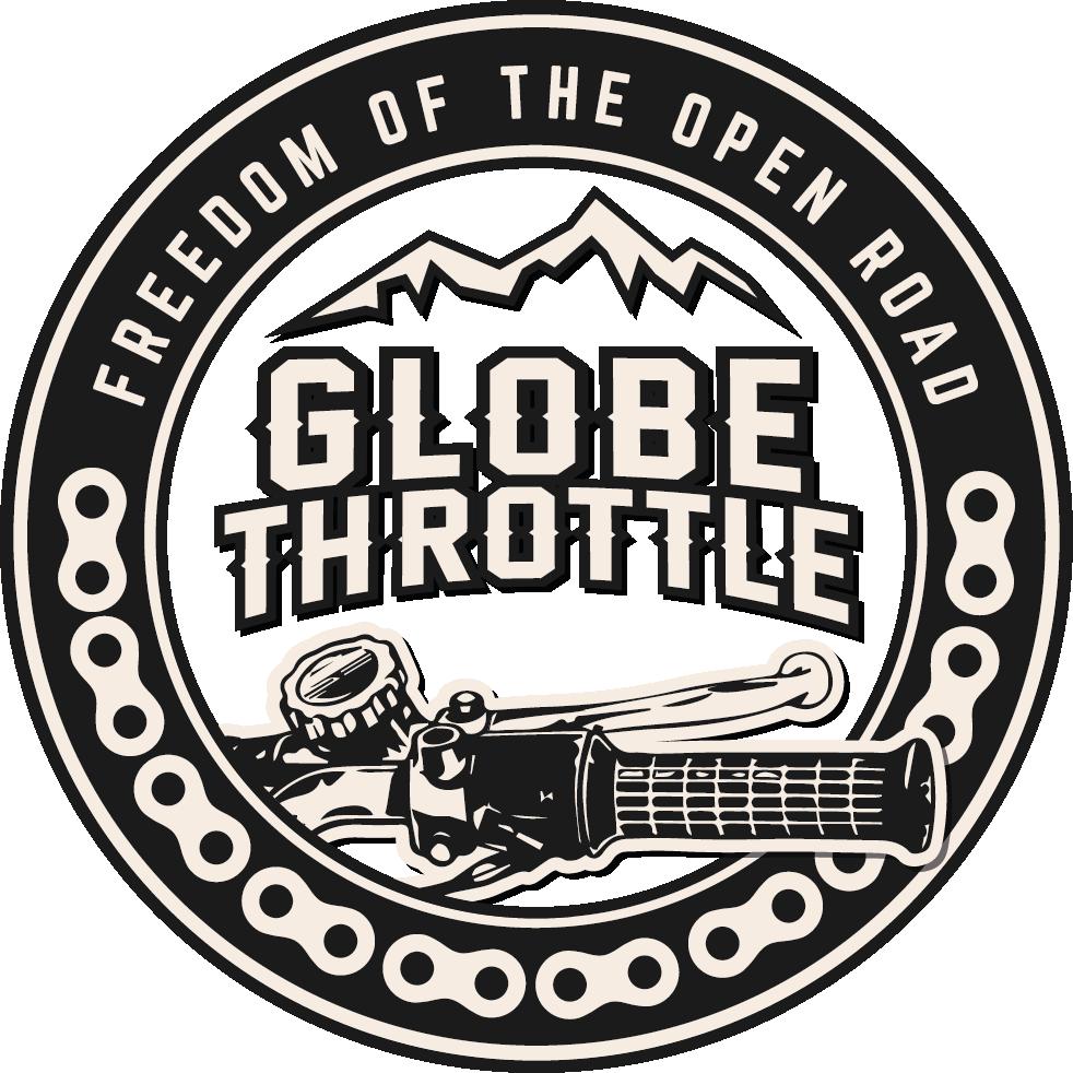 Globe Throttle Logo | #TheMotoSocialNAMUR