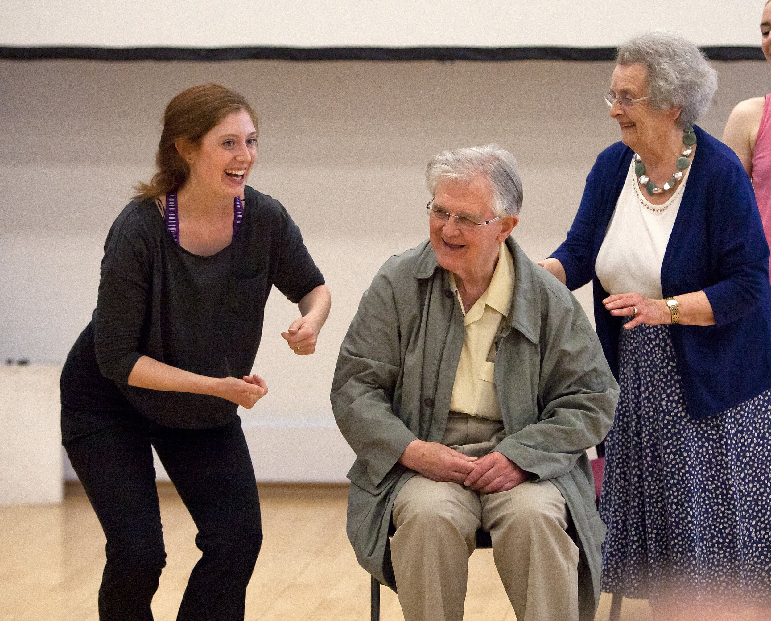 Dance for Parkinson's community class, People Dancing Summer School 2016, photography by Rachel Cherry