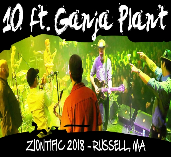 10 Ft. Ganja Plant - 10Ft Ganja Plant will be performing at the Ziontific Summer Solstice Music Festival in June this year and to get you in the mood we highly recommend checking out lead guitarists Nate Silas Richardson's specially curated playlist featuring some choice tunes. Click here to listen!!Also available official 10Ft merch - still a few T-Shirts left on sale!