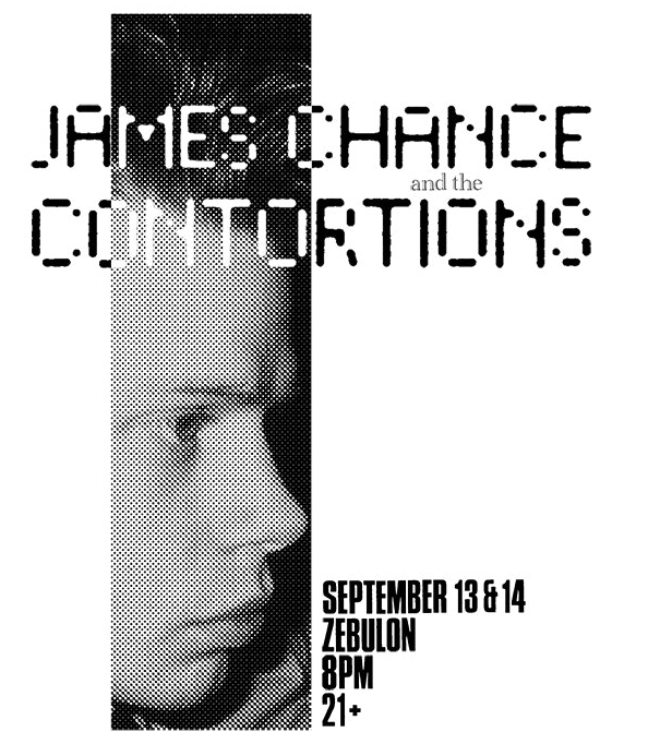 James Chance and the Contortions - Sept. 5, 2018 - The original New York, No Wave pioneers, James Chance and the Contortions will be hitting the West Coast next week to play at Zebulon in Silverlake, Los Angeles. A second show has just been added due to popular demand with tickets on sale now!! Click the pic for the link.