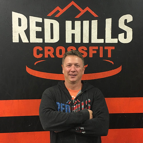 """BILL LIVINGSTON - Coach - CF-L1, CF-L2Bill initially got into CrossFit by testing out the workouts for a year in a traditional gym. He officially joined an affiliate in 2010. The benefits he noticed were immediate and he's been hooked on both the community and fitness aspect of CrossFit ever since. Bill began his coaching journey in 2014 when he got his CF-L1 certification. He's taken his coaching to the next level and obtained his CF-L2 certification in 2018. Bill has been a part of the Red Hills Coaching Staff since 2014.""""I am continually rewarded with seeing the same benefits from our members as I have personally experienced since starting CrossFit. Seeing our members work towards accomplishing their goals and seeing the joy when they achieve their goals is what keeps me motivated as a coach. I look forward to continuing to help our RHCF members reach their goals for many years to come."""" -Bill"""