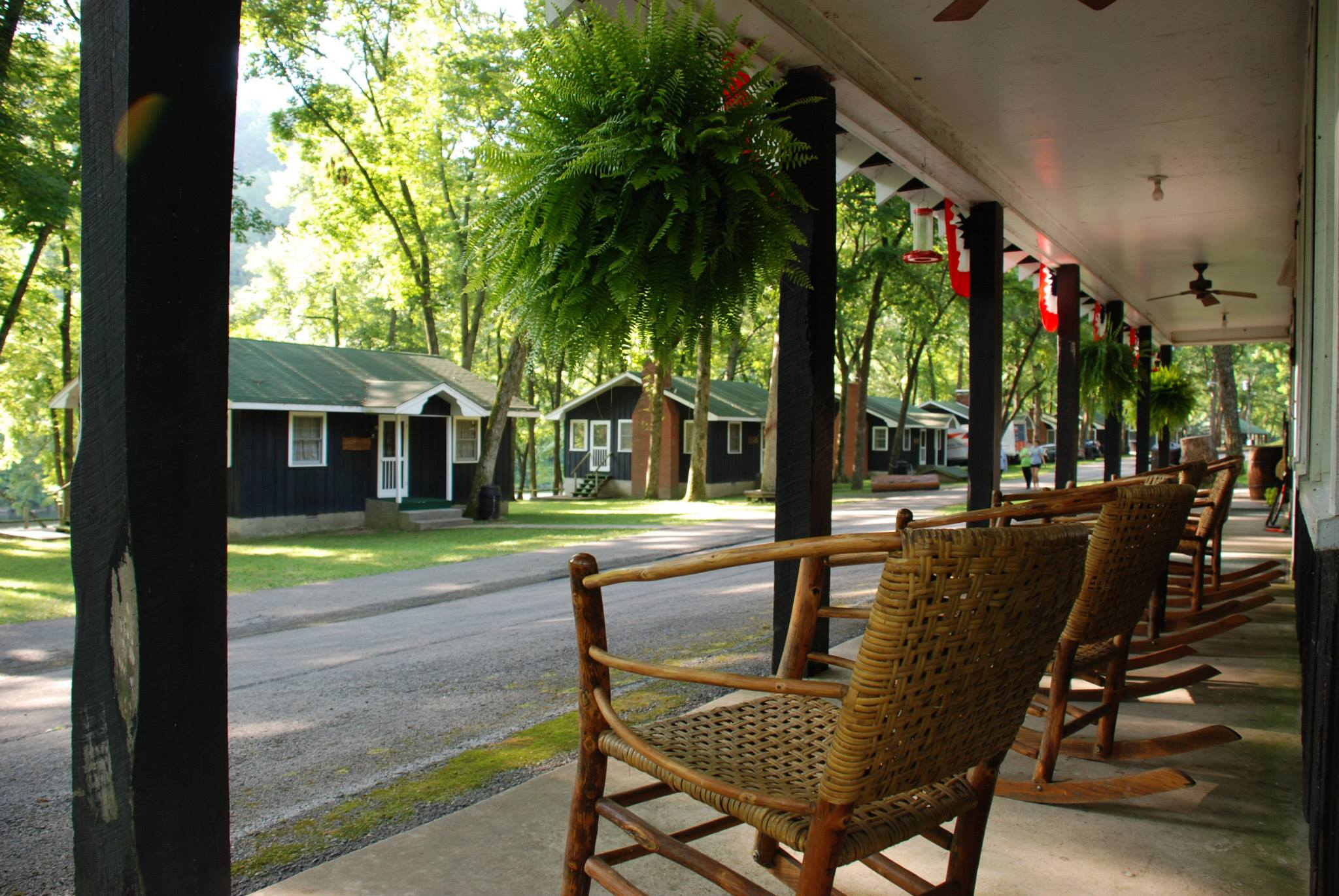 Enjoy a late summer weekend at the picturesque Bunker Hill Retreat.