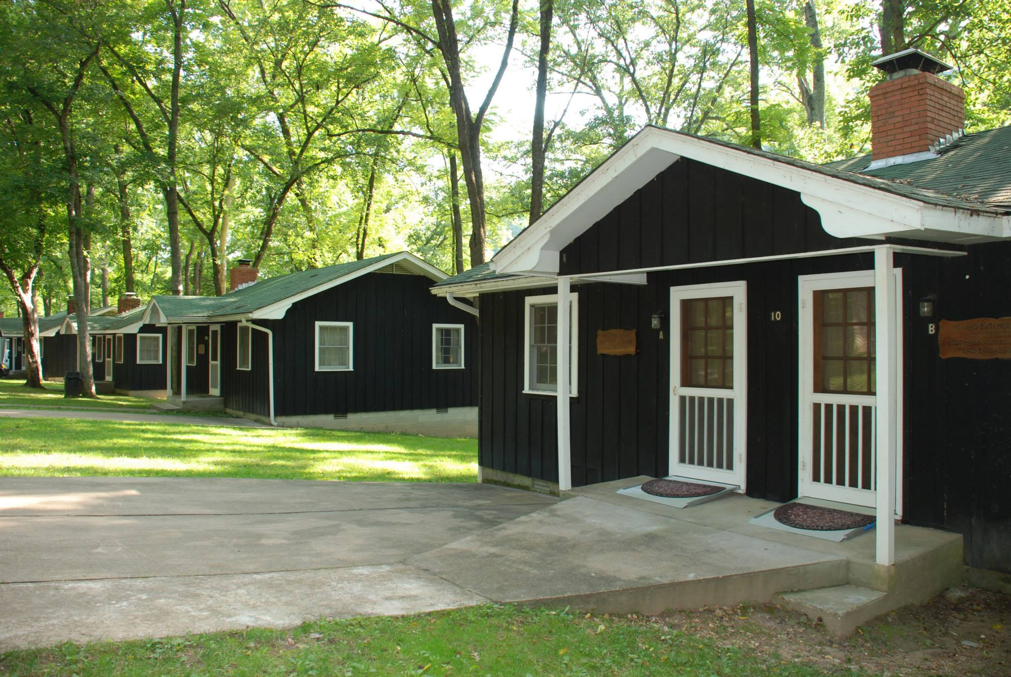 There are a variety of cabins for MOC members to choose from at Bunker Hill.