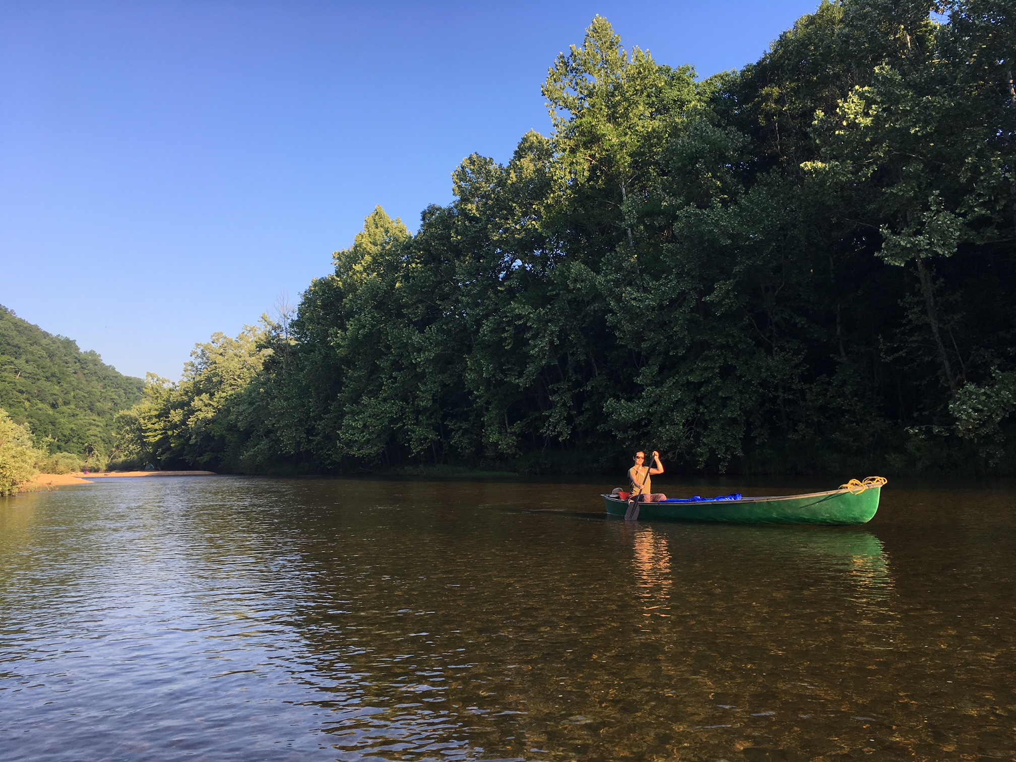 Enjoy floating and fishing on the Jacks Fork River, one of the most scenic and beautiful rivers in the country.