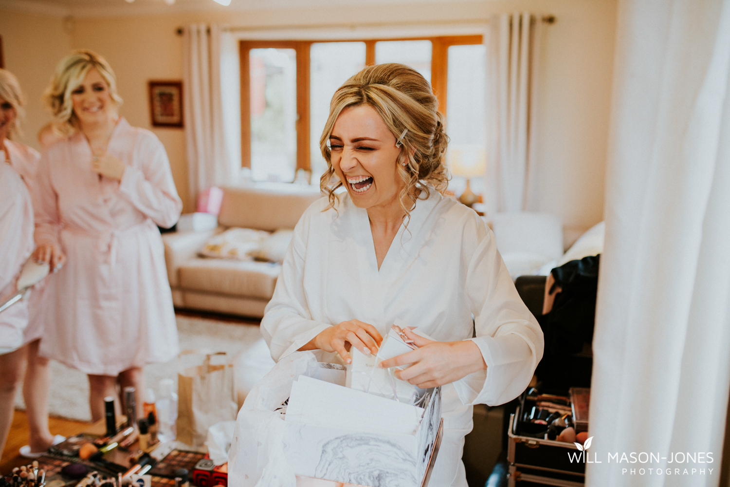 fun relaxed natural hensol castle wedding photographer cardiff