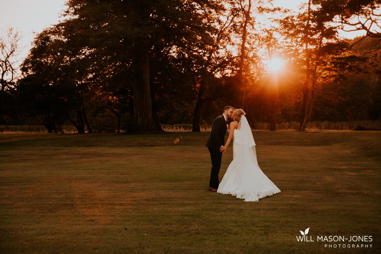 sunset couple portraits at hensol castle wedding photographer cardiff