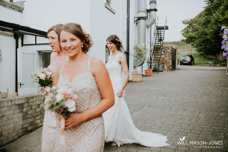 The king arthur hotel swansea wedding bridal preparations photography cottage bridesmaids