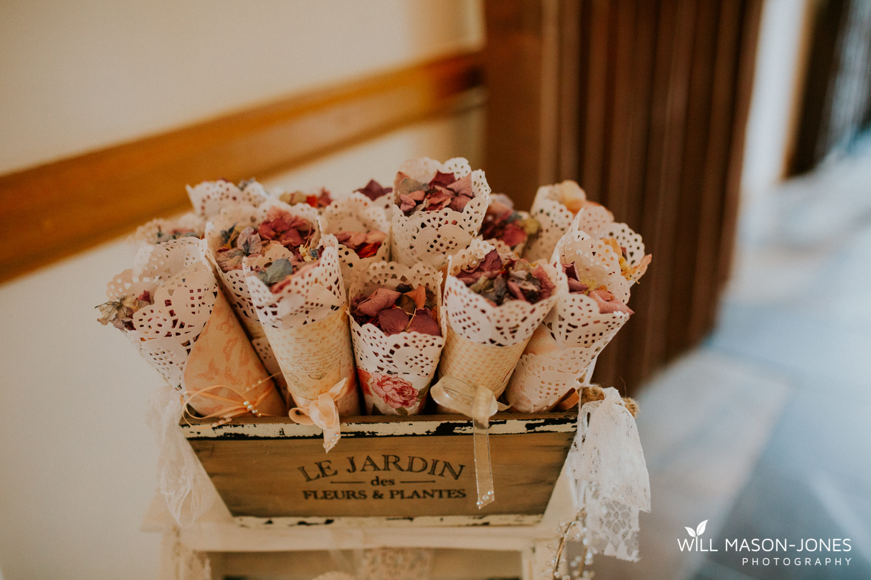 The king arthur hotel swansea gower wedding venue decorations ceremony room