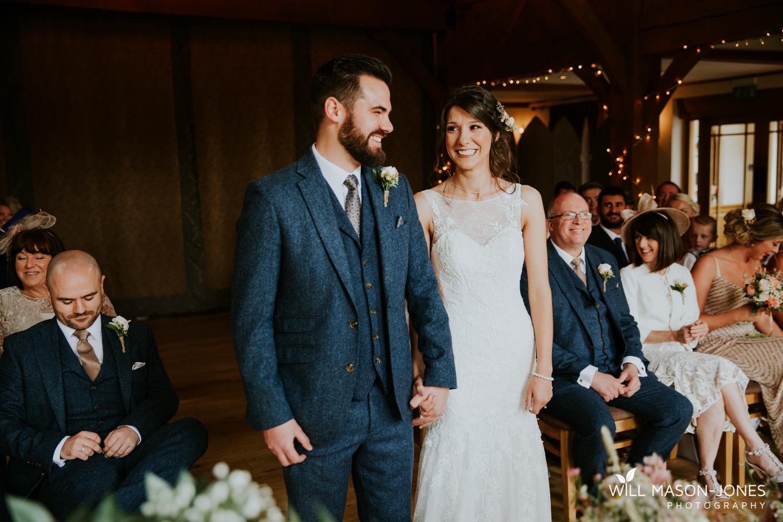 The king arthur hotel swansea wedding ceremony photography