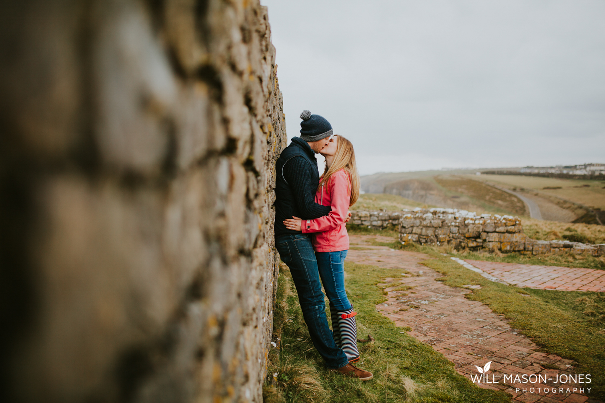 engagement pre-wedding photography southerndown cardiff beach