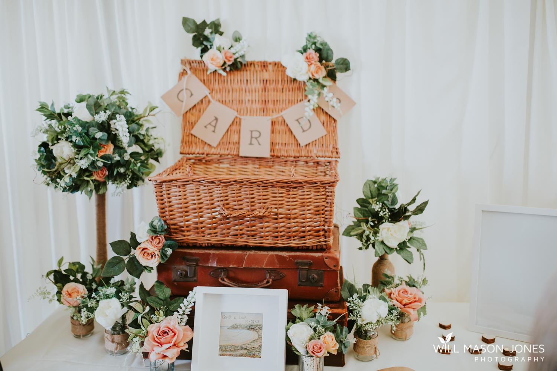 oxwich bay hotel swansea marquee wedding reception decorations