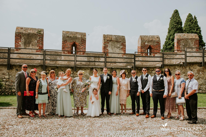 malcesine castle lake garda family group photographs