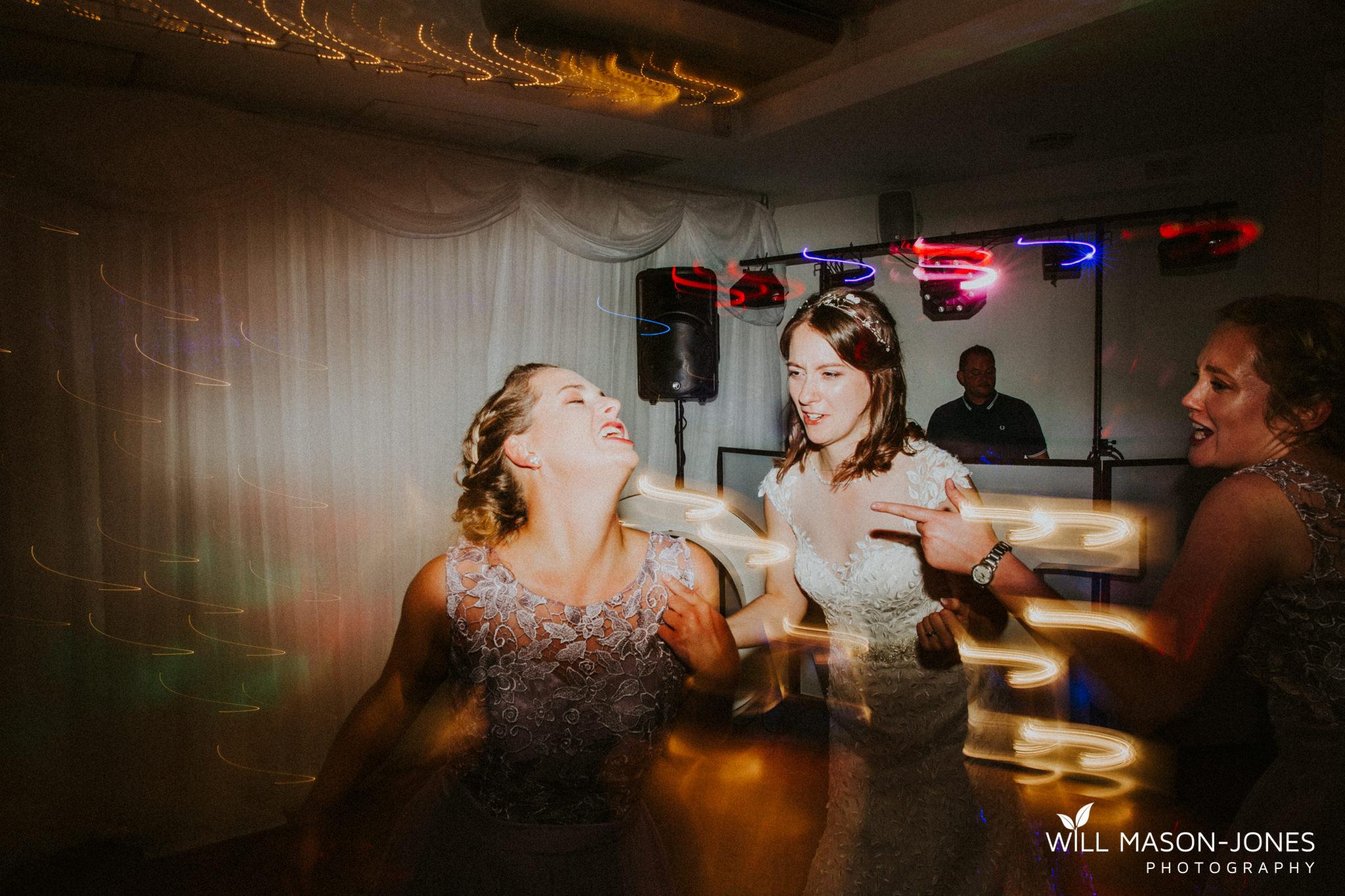 diglis house hotel evening wedding reception dancefloor photography
