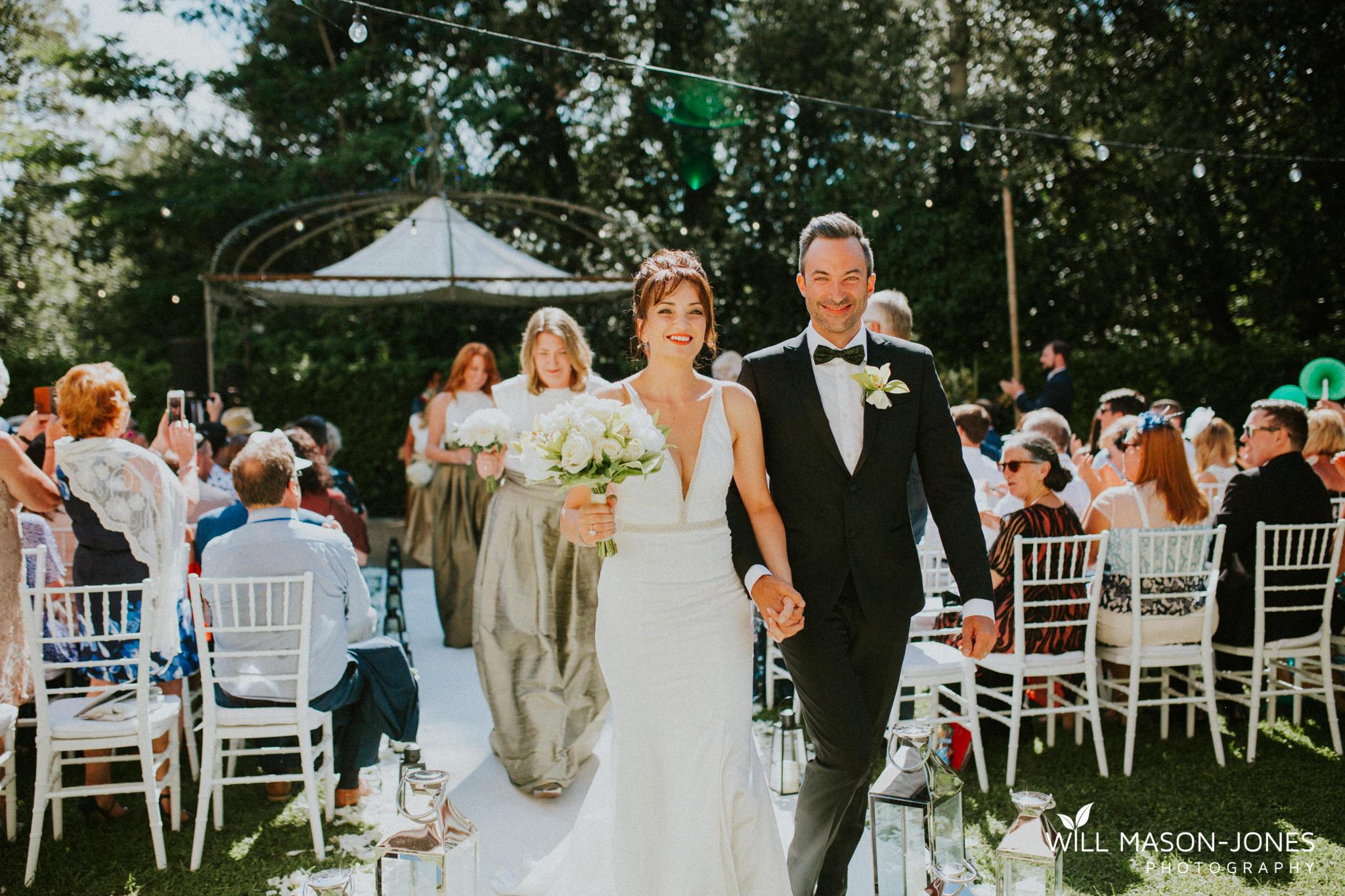Borgo Il Castagno tuscany Italy villa destination wedding garden ceremony photography