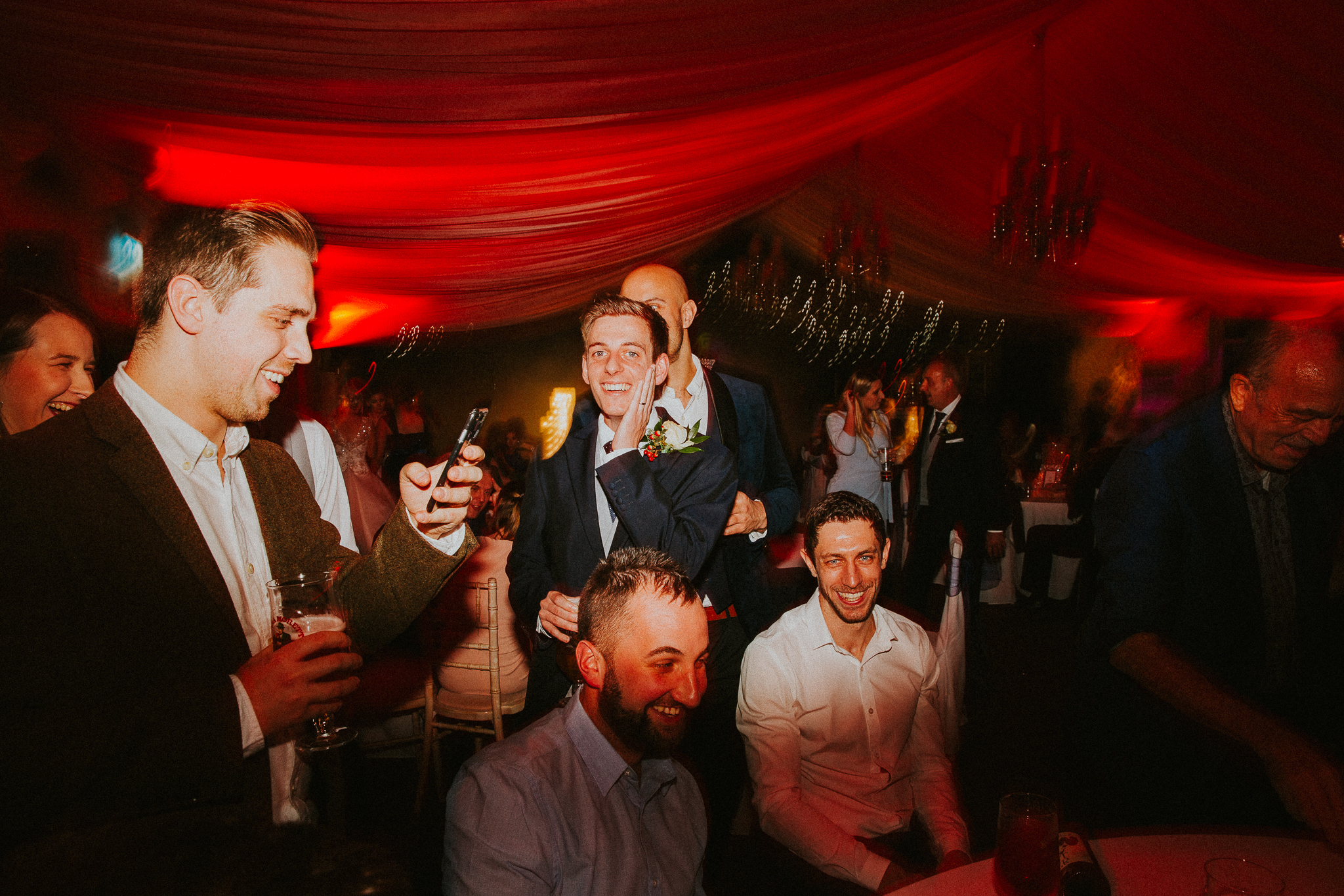 oldwalls-winter-wedding-photographers-swansea-colourful-reception