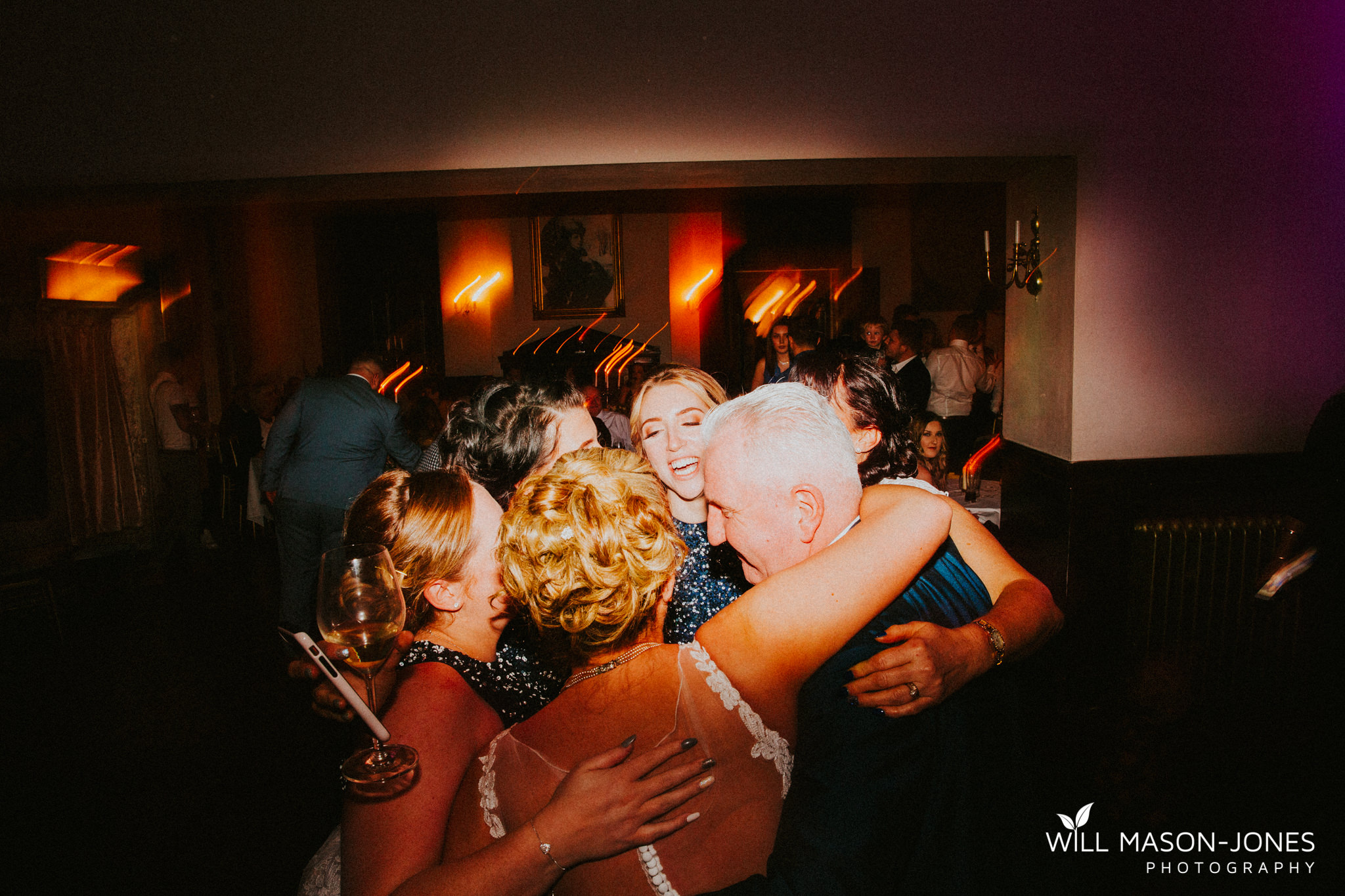 craig y nos castle weddings evening reception fun dancefloor photography