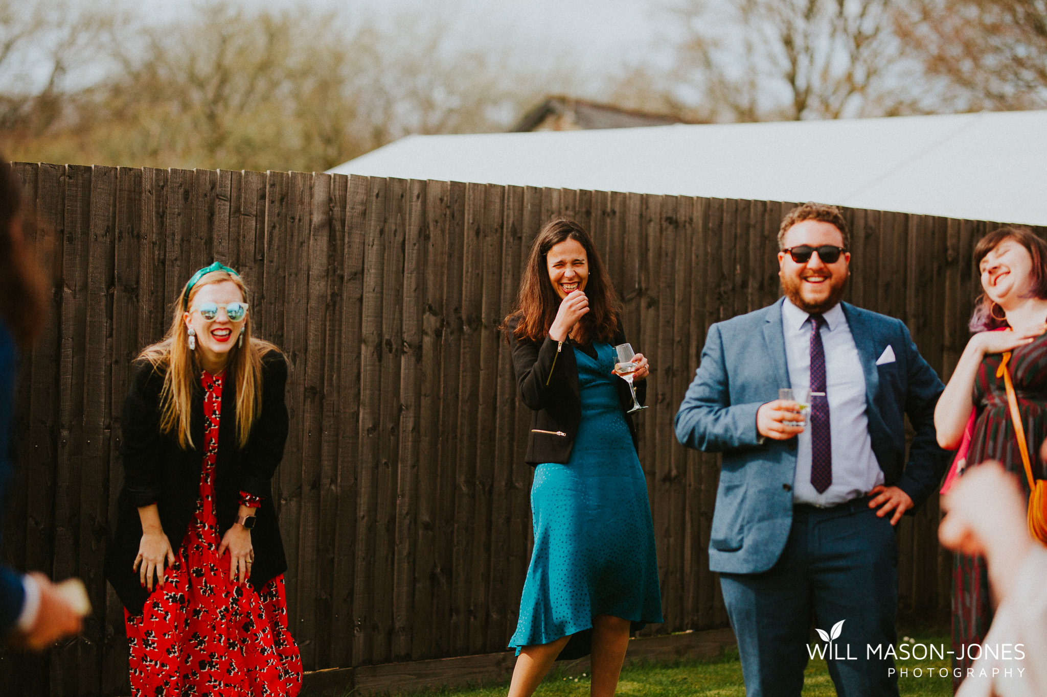 llanerch vineyard cardiff wedding guests photography