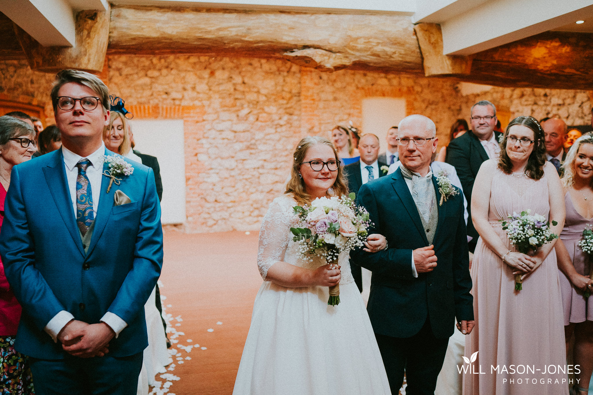 cosy colourful emotional wedding photography oxwich bay hotel swansea