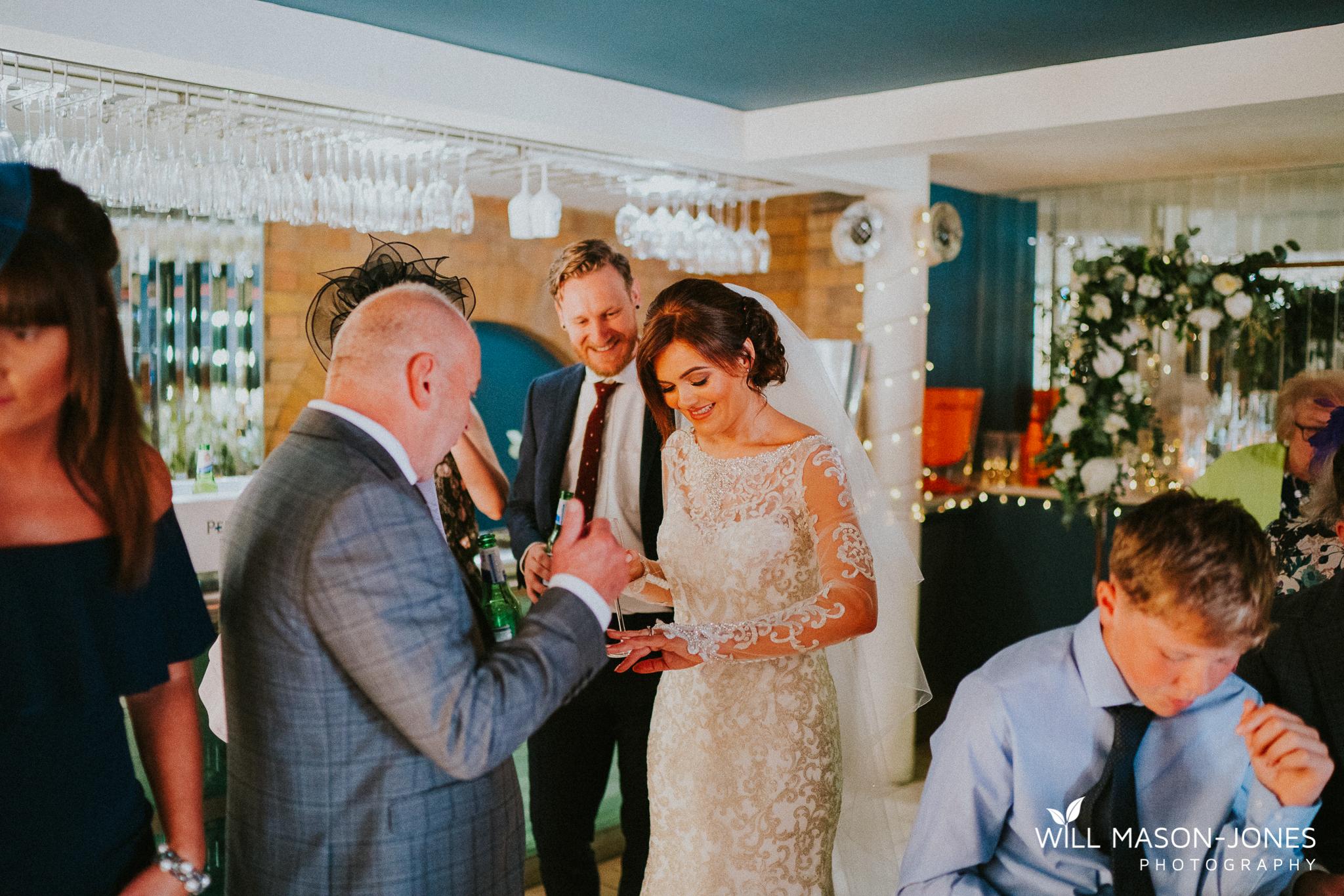 morgans hotel swansea wedding guests reception decorations