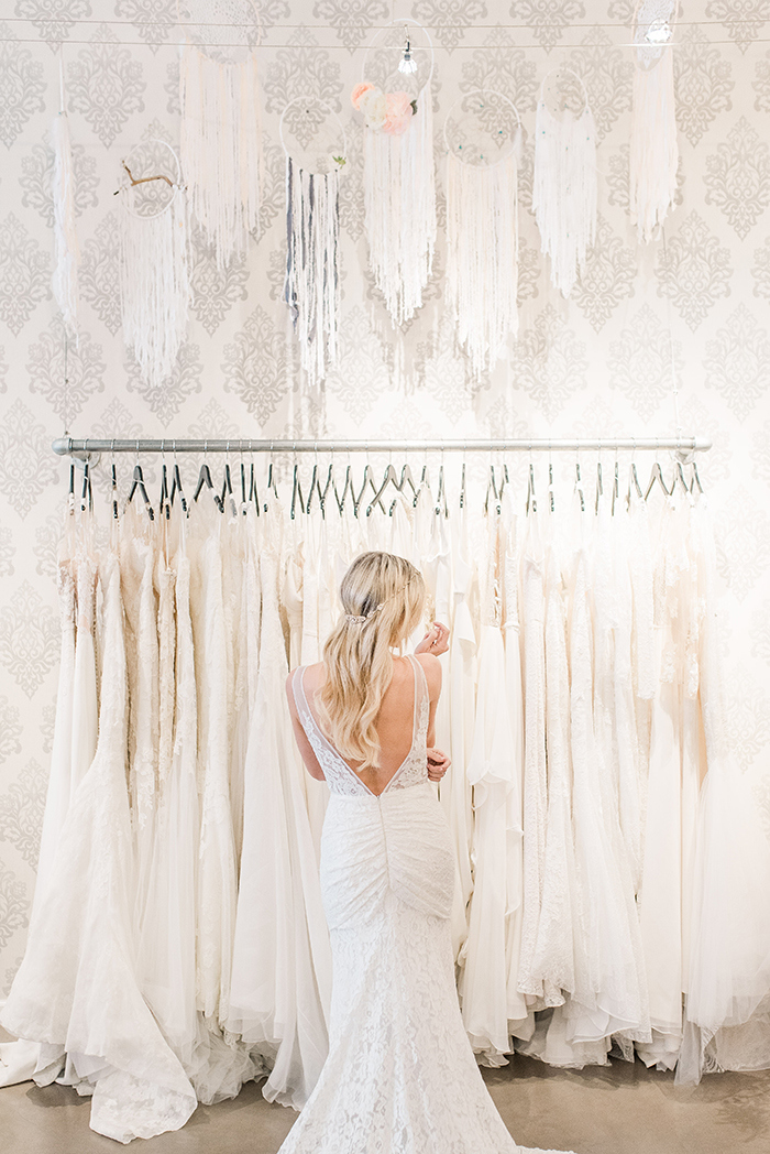 Dreamy Bridal Salon with Dream Catcher Decor