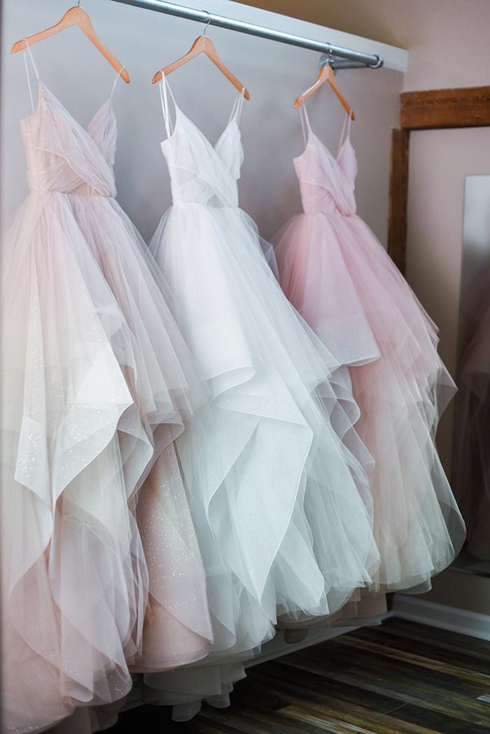 Chandon - Three Shades of Champagne Wedding Dress