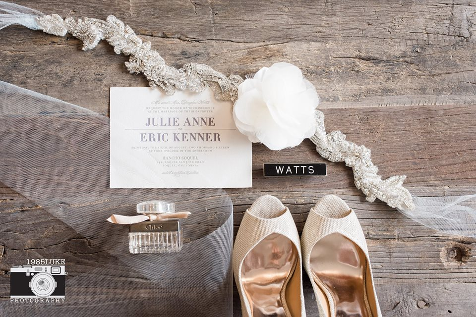 Rustic Glam Bridal Accessories