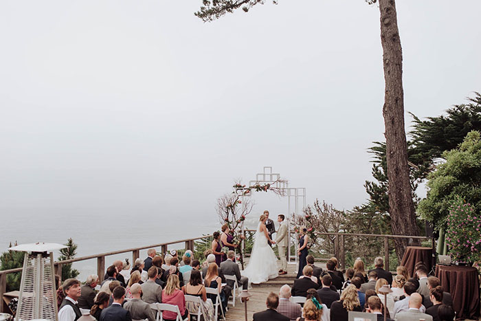 Gorgeous Coastal Wedding Ceremony