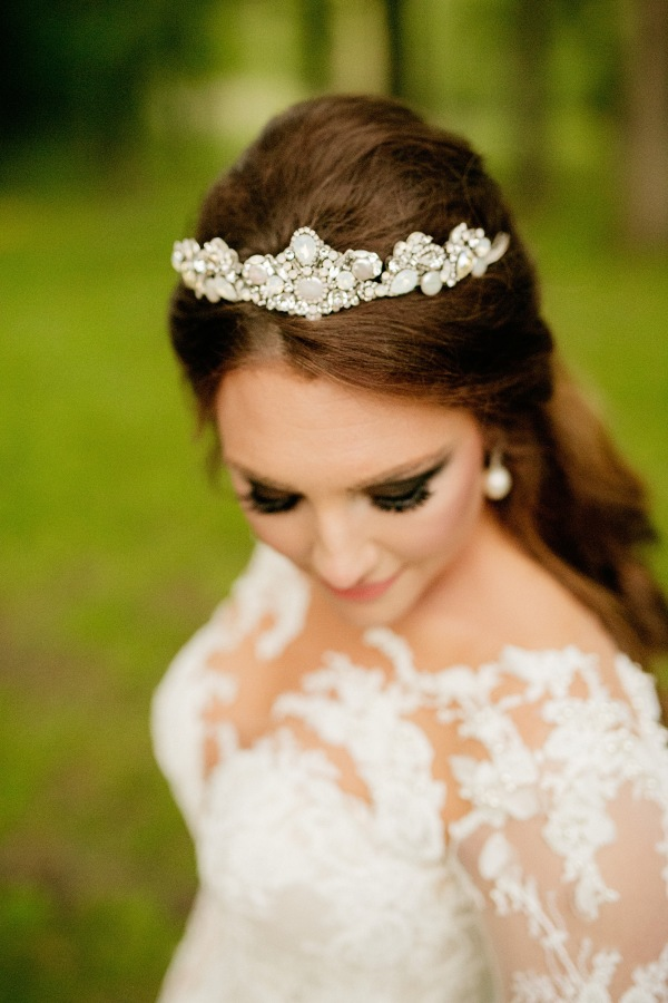 Pearl and Crystal Wedding Day Tiara