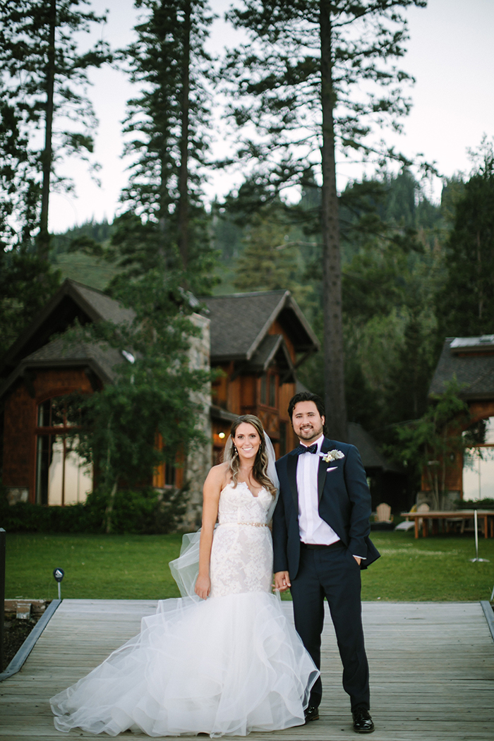 Chic Lakeside Wedding in Tahoe