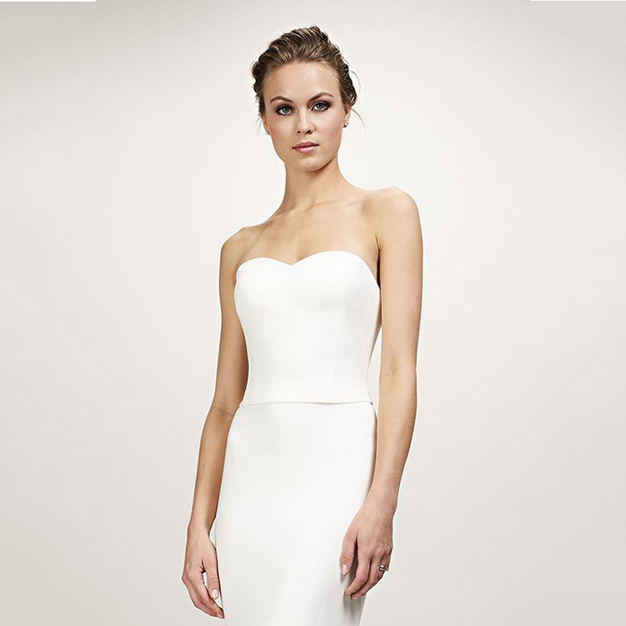 Theia Bridal Brianna Crop Top - Mix and Match