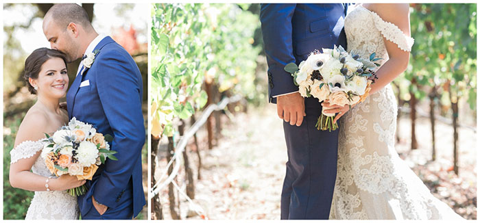 Romantic and Elegant California Wine Country Wedding