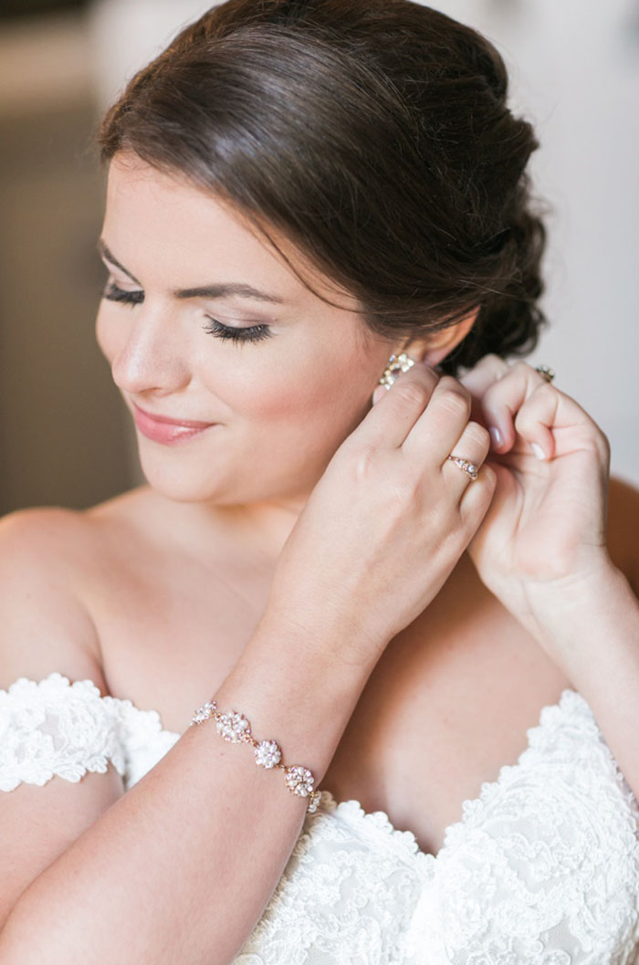 Custom Haute Bride Wedding Jewelry