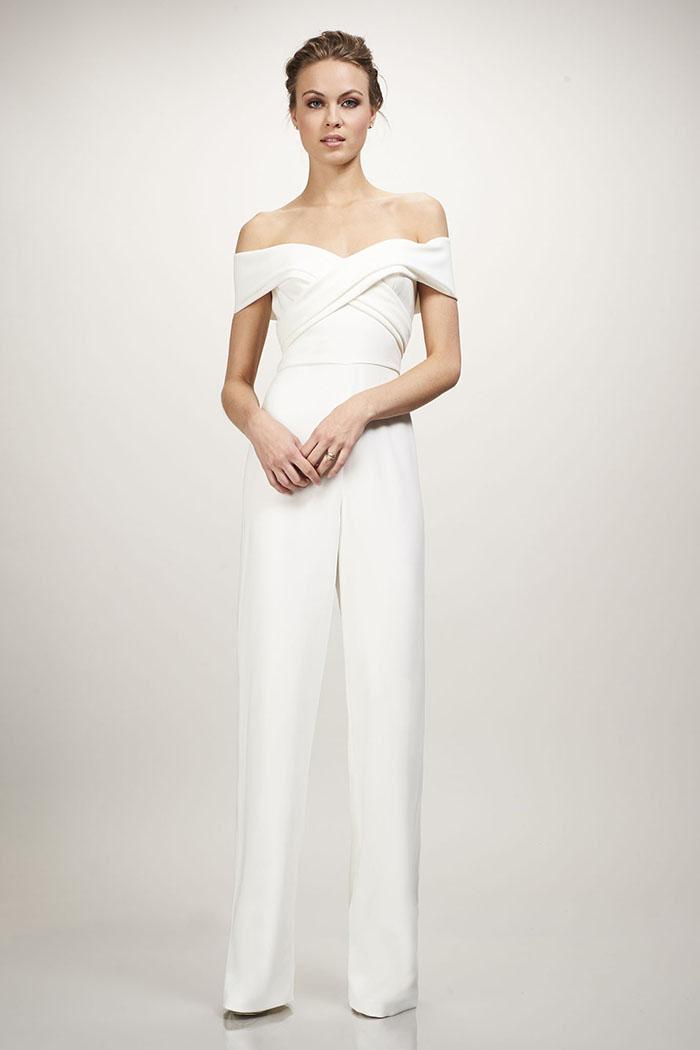 Theia Bridal Colette Jumpsuit