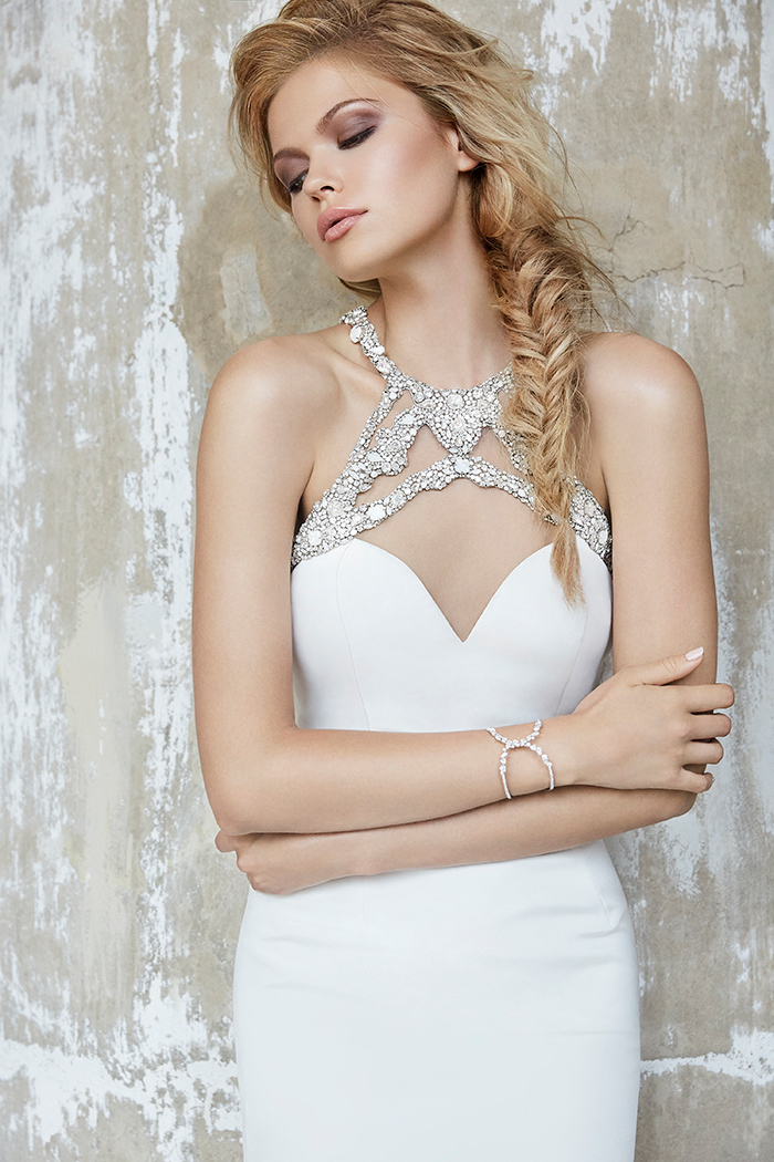 Hayley Paige Sloane Jeweled Wedding Dress