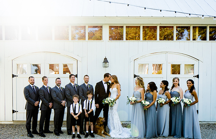 Elegant Barn Wedding Photos in Southern California