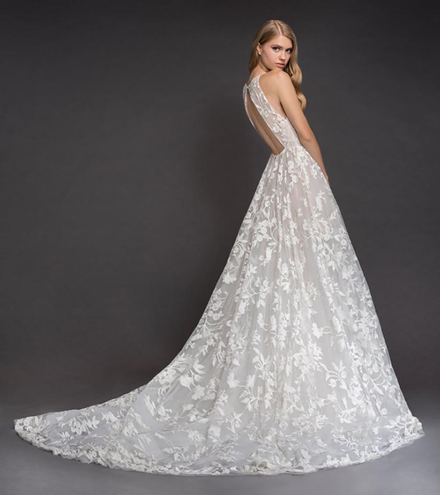 Blush by Hayley Paige Spring 2018 Fleur de Lis Wedding Dress