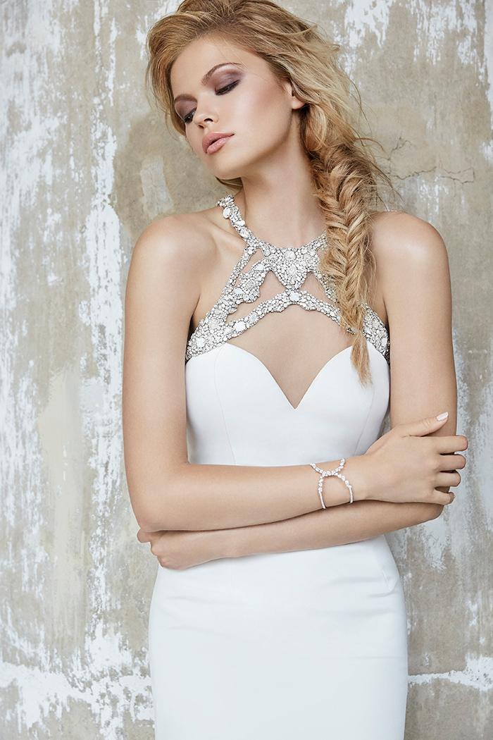 Hayley Paige Sloane Two Piece Wedding Dress
