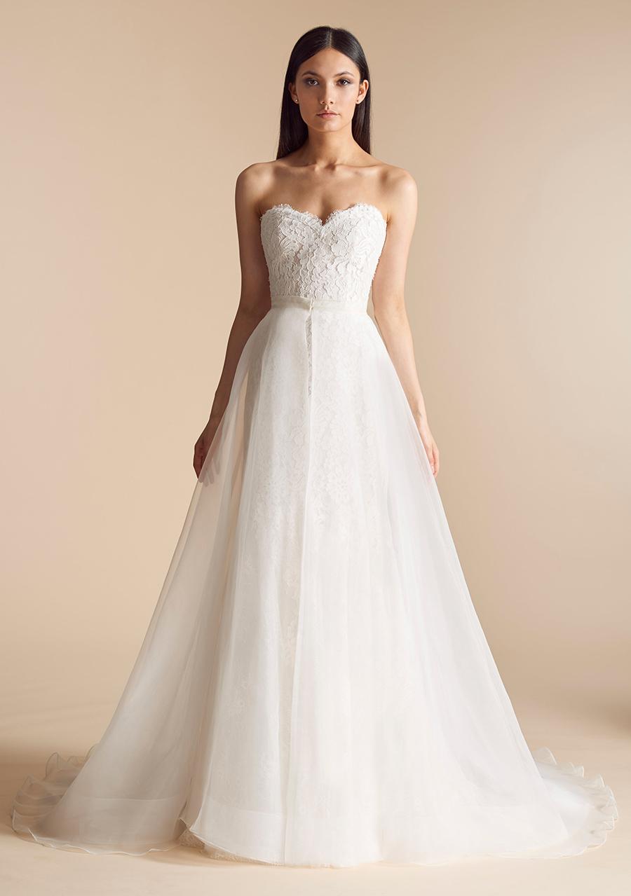 Allison Webb Devereaux Two Piece Wedding Dress