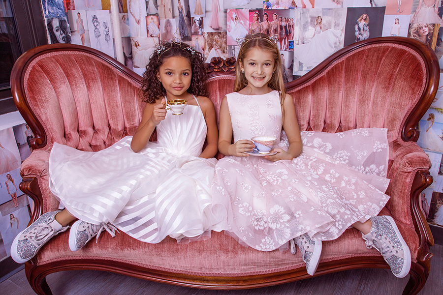 Introducing La Petite Paige - Flower Girl Dresses by Hayley Paige
